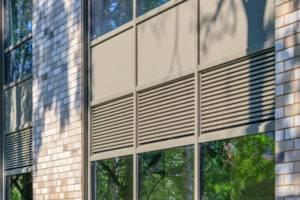 louvers & ventilation for schools colleges & universities