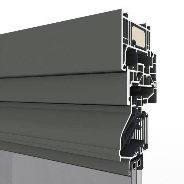 Grey Louvers & Ventilation